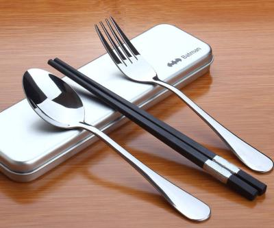 旅行餐具三件套