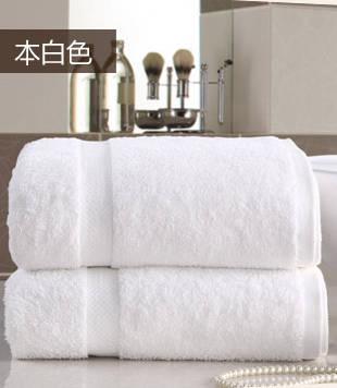 全棉自然本色浴巾