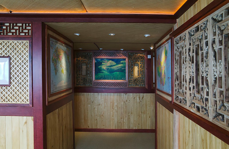 Li-An Lodge Interior, Hallway