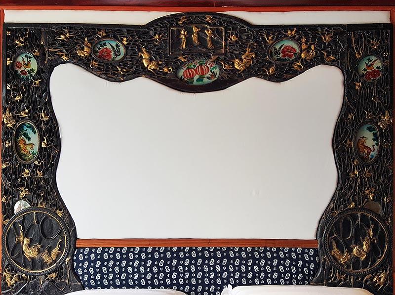 Gilded Carved Bed Frame