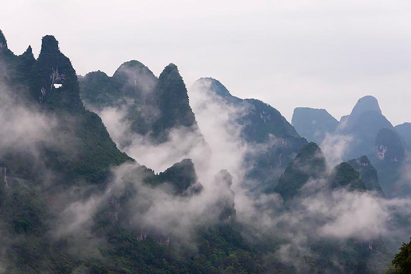 Karst Hills in Xingping